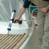 Teakdeck-Verlegung / Fugenabdichtung  Deck